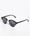 Roundie Black Club Master Sunglasses