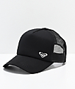 Roxy Black Finishline Trucker Hat