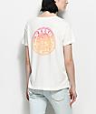 Roxy Hurricane camiseta en color crema