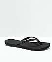 Roxy Napili Black Sandals