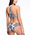 Roxy Printed Strappy Love Reversible Bikini Bottom