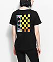 Roxy Surf Checkers Black T-Shirt