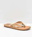 Roxy Vista II Tan Sandals