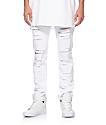 Rustic Dime jeans desgarrados ajuste cónico
