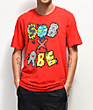 SOB x RBE Characters Red T-Shirt
