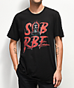 SOB x RBE Ski Mask 3D Black T-Shirt