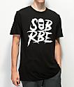 SOB x RBE Ski Mask camiseta negra y blanca