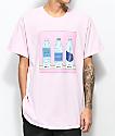 SOMEHOODLUM Corner Store Water Pink T-Shirt