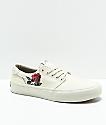 STRAYE Fairfax Rose zapatos de skate blanquecinos