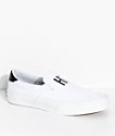 STRAYE Ventura Hi AF White Slip-On Skate Shoes