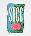 SUCC Flower Sticker
