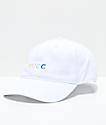 SUCC Logo White Strapback Hat