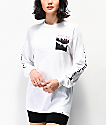 SWIXXZ Pinky Promise White Long Sleeve T-Shirt