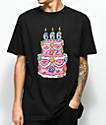 Salem7 666 Cake Black T-Shirt