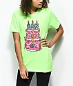 Salem7 666 Cake Green T-Shirt