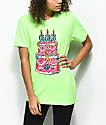 Salem7 666 Cake camiseta verde