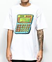 Salem7 Calculator White T-Shirt