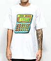 Salem7 Calculator camiseta blanca
