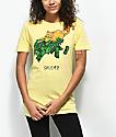 Salem7 Cash Cat Yellow T-Shirt
