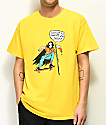 Salem7 Proud Parents Yellow T-Shirt