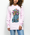 Salem7 Trash Can Pink Long Sleeve T-Shirt