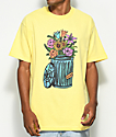 Salem7 Trash Can Yellow T-Shirt