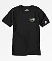 Salty Crew Boys Angry Bull Black T-Shirt