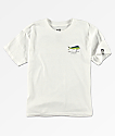 Salty Crew Boys Angry Bull White T-Shirt