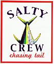 Salty Crew Chasing Tail pegatina