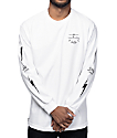 Salty Crew Dash White Long Sleeve T-Shirt