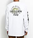 Salty Crew Fly Supply camiseta blanca de manga larga