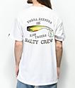 Salty Crew Hopper Bomber camiseta blanca