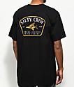 Salty Crew Leeward camiseta negra
