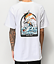 Salty Crew Poppin Off White T-Shirt