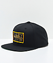 Salty Crew Rigged Black Snapback Hat