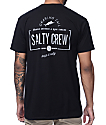 Salty Crew Seeker camiseta negra