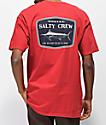 Salty Crew Stealth camiseta roja