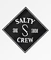 Salty Crew Tippet Black Sticker