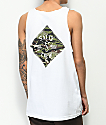 Salty Crew Tippet Cover White & Camo Tank Top