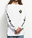 Salty Crew Tippet White & Camo Long Sleeve T-Shirt