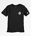 Salty Crew Tippet camiseta negra para niños