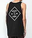 Salty Crew Tippet camiseta sin mangas negra
