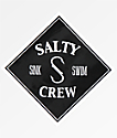 Salty Crew Tippet pegatina negra