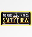 Salty Crew Trawler pegatina negra