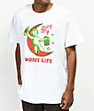 Samborghini Worst Life White T-Shirt
