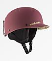 Sandbox Classic 2.0 Burgundy Floral Snowboard Helmet