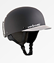Sandbox Classic 2.0 casco de snowboard gris y negro