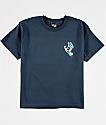 Santa Cruz Boys Scream Navy T-Shirt