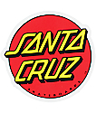 "Santa Cruz Classic Dot 3"" Sticker"
