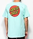 Santa Cruz Classic Dot Celadon camiseta azul